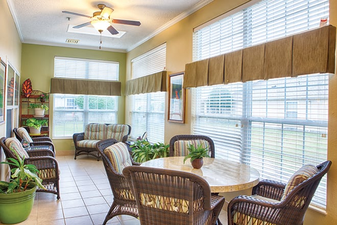 Brookdale Ada Sun Room
