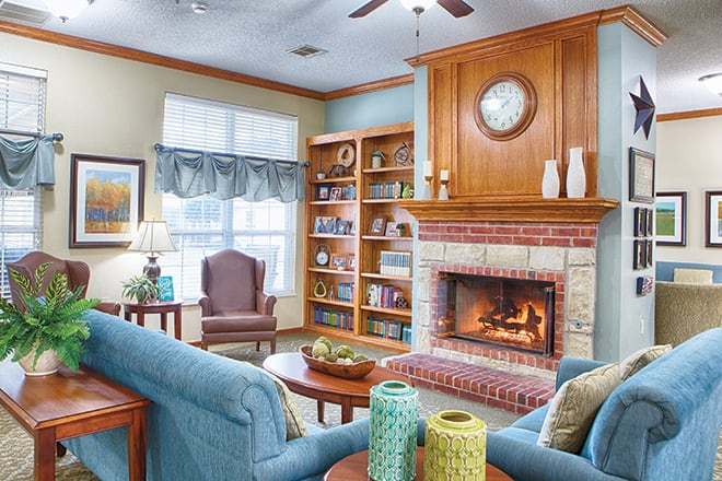 Brookdale Ada Community Living Room