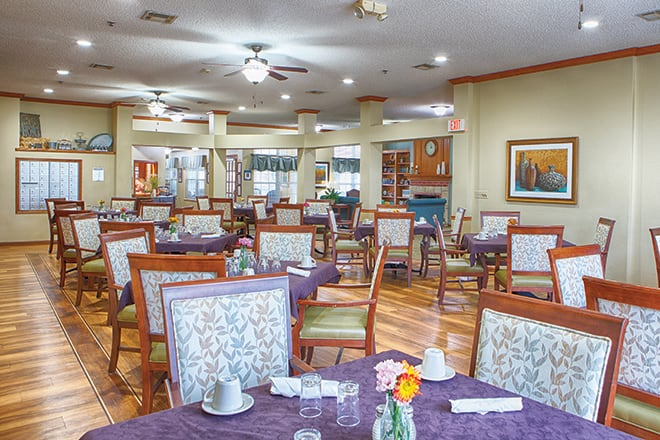 Brookdale Ada Dining Room