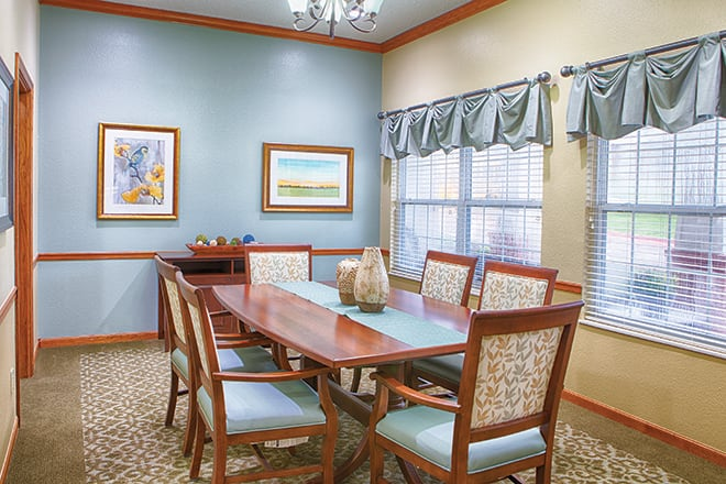 Brookdale Ada Private Dining Room