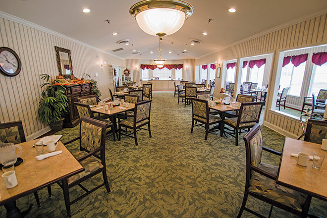 Brookdale Albertville Dining Room