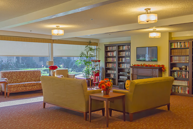 Brookdale Anaheim Common Area