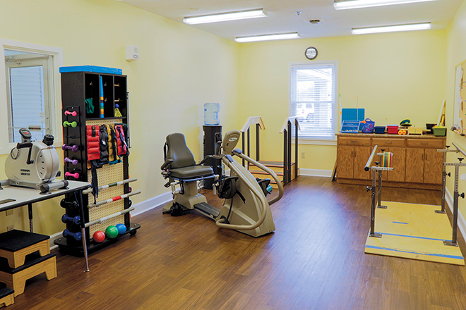 Brookdale Anderson Skilled Nursing Therapy Room