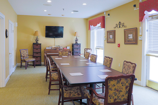 Brookdale Anderson Skilled Nursing Activity Room