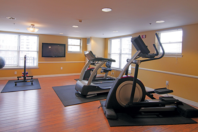 Brookdale Arlington Fitness Room