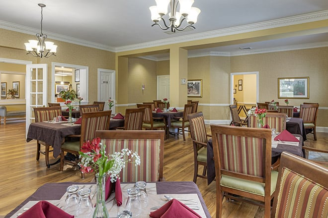 Brookdale Augusta Dining Room