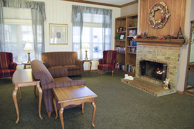 Brookdale Barberton Community Living Room