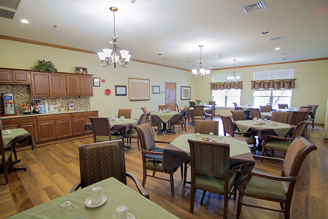 Brookdale Bartlesville South Dining Room