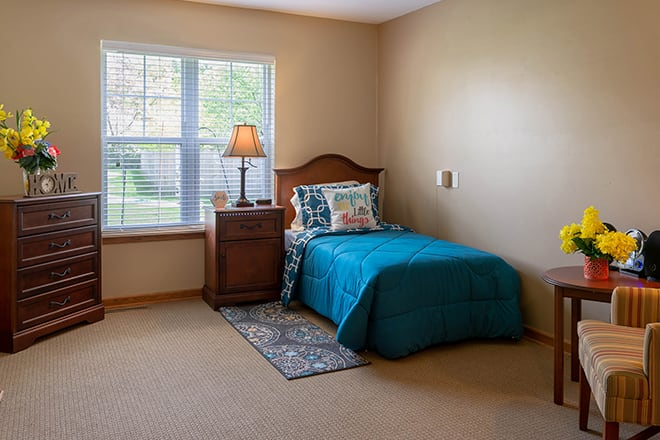 Brookdale Battle Creek Bedroom