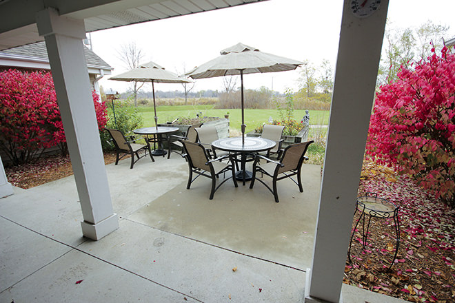 Brookdale Bay City Patio