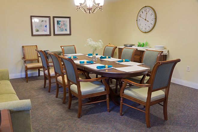 Brookdale Beaverton Private Dining Room