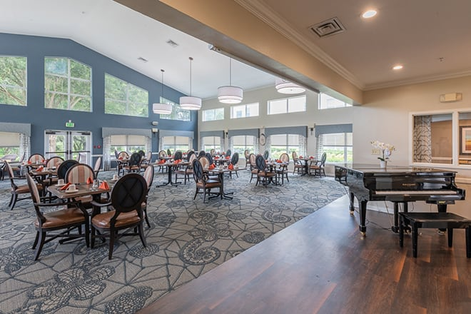 Brookdale beckett lake assisted living and memory care for Live in caregiver room and board