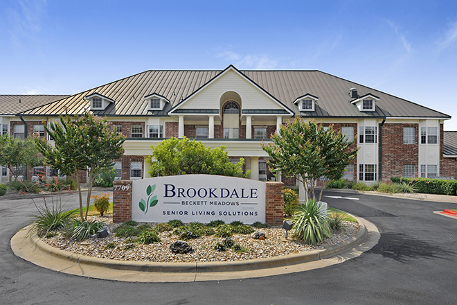 Brookdale Beckett Meadows  Entrance