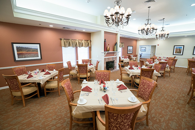 Brookdale Beckett Meadows  Dining Room