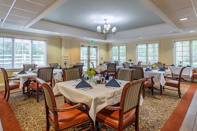 Brookdale Belle Meade Dining Room