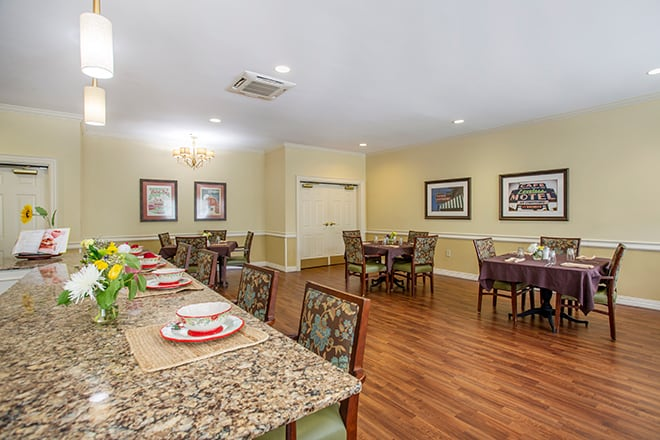 Brookdale Belle Meade Kitchen & Dining Room