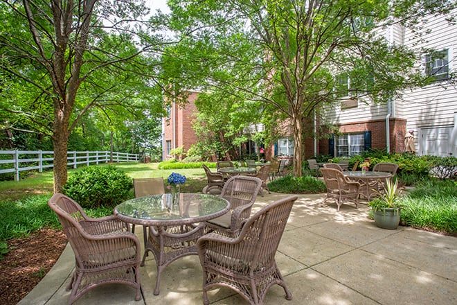Brookdale Belle Meade Patio
