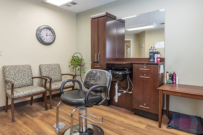 Brookdale Bloomington Salon