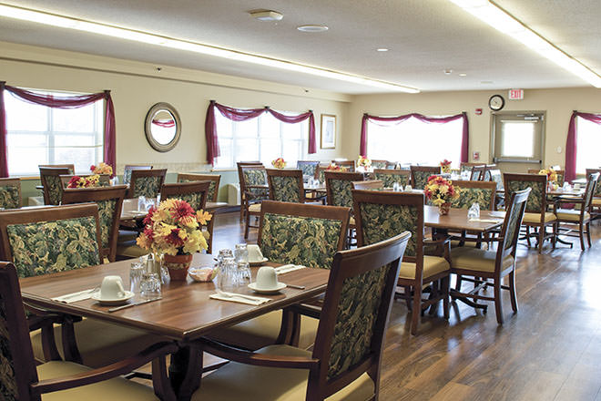 Brookdale Bloomsburg Dining Room
