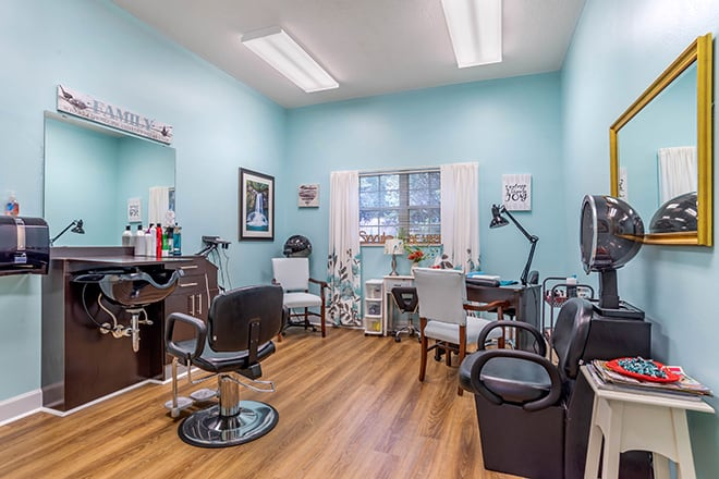 Brookdale Bluewater Bay  Salon