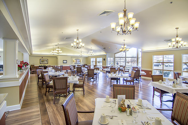 Brookdale Boise Parkcenter Dining Room