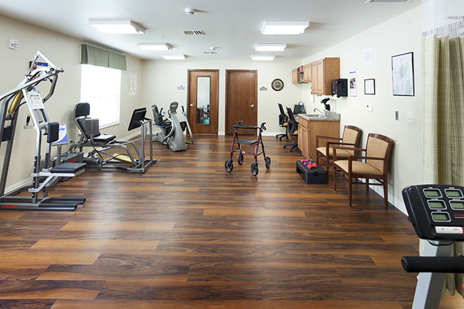 Brookdale Bowling Green Fitness Room
