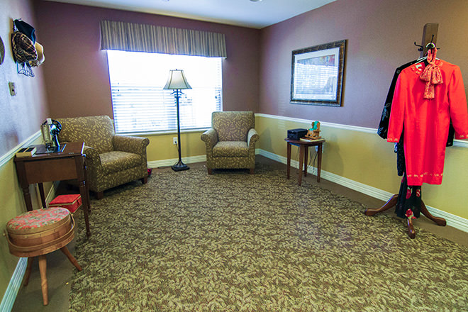 Brookdale Broken Arrow Memory Care Area