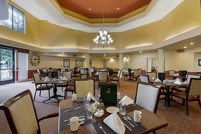 Brookdale Brookhurst Dining Room