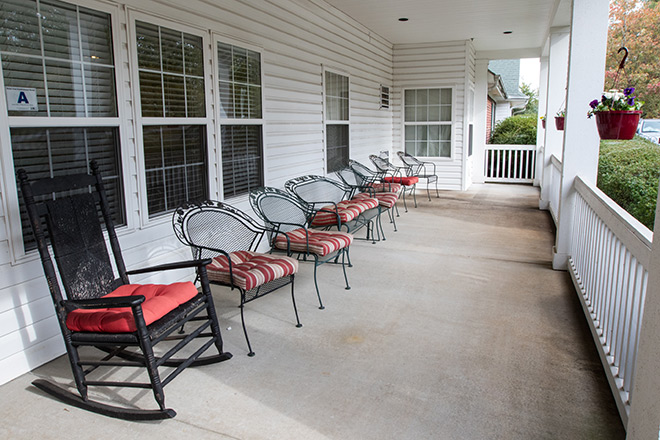 Brookdale Brushy Creek Front Porch
