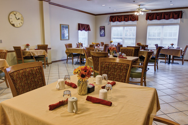 Brookdale Buck Creek Dining Room