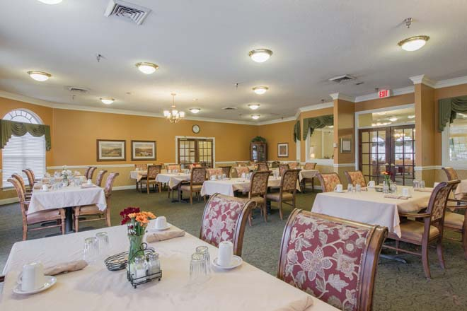 Brookdale Burlington Dining Room
