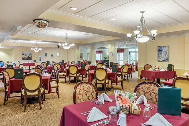 Brookdale Camarillo Dining Room