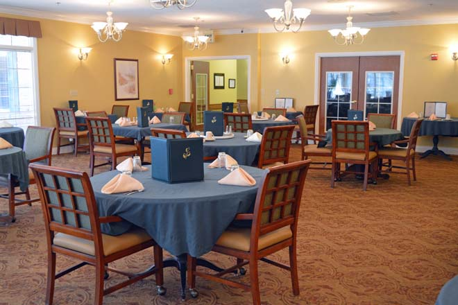 Brookdale Canopy Oaks Dining Room