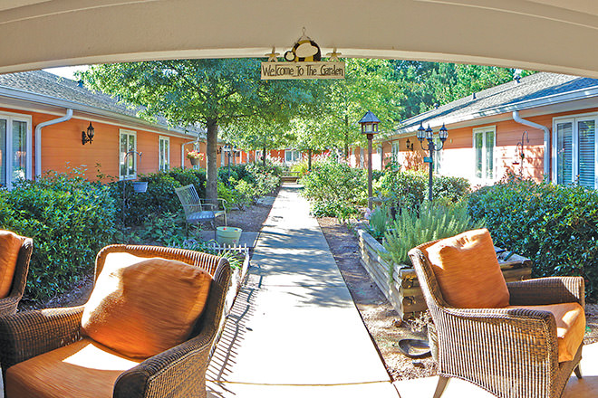 Brookdale Canton Patio