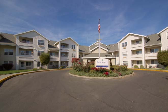 Senior Living In Kennewick Washington Brookdale Canyon Lakes
