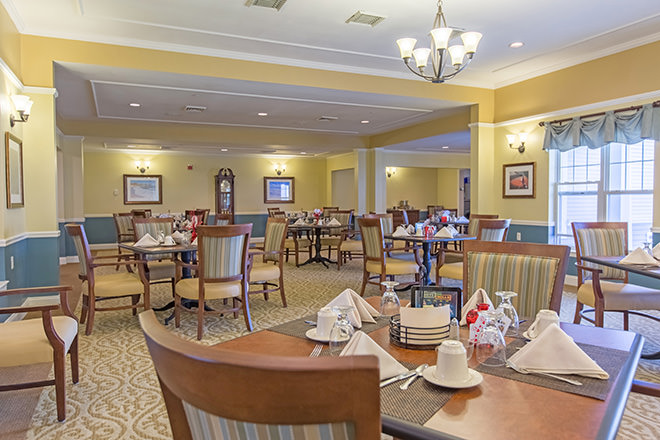 Brookdale Cape Cod Dining Room