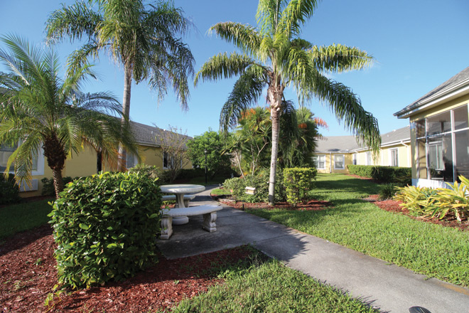 Brookdale Cape Coral Patio