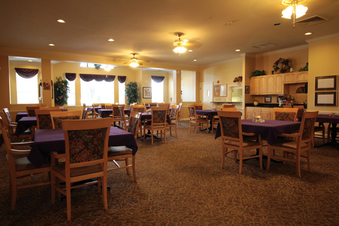Brookdale Cape Coral Dining Room