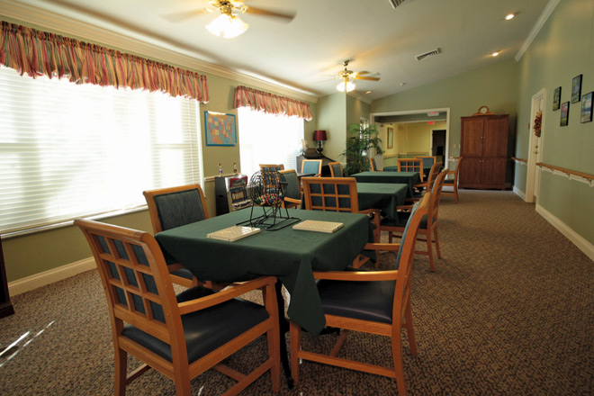Brookdale Cape Coral Private Dining Room