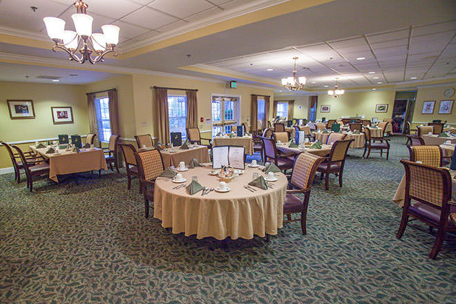 Brookdale Carmel Valley Dining Room
