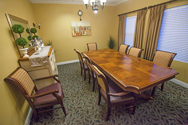Brookdale Carmel Valley Private Dining Room