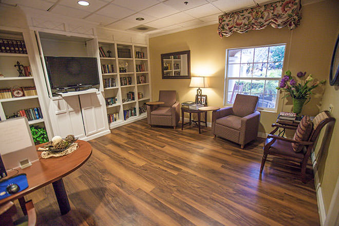 Brookdale Carmel Valley TV Room