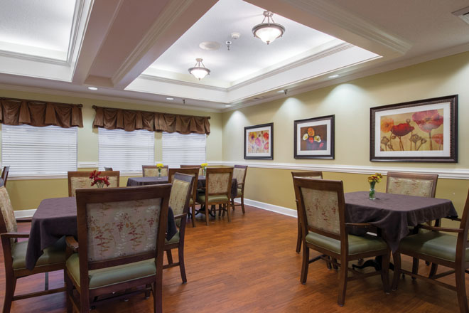 Brookdale Cary Dining Room