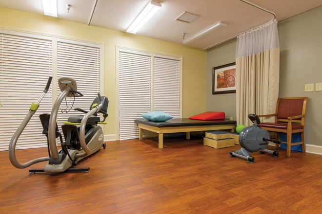 Brookdale Cary Fitness Room
