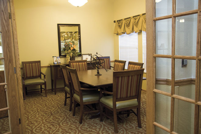 Brookdale Centennial Park Private Dining Room