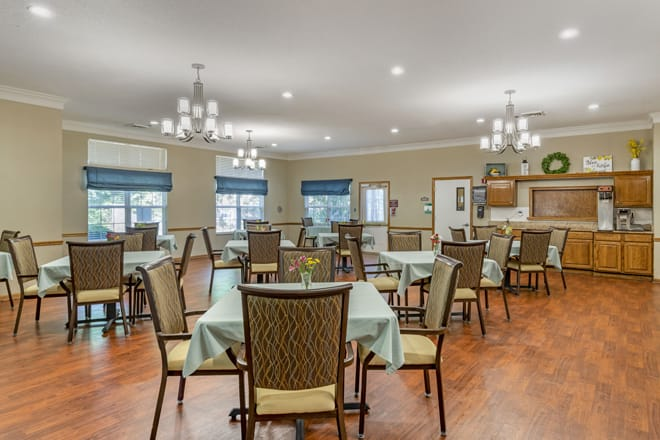 Brookdale Central Dining Room