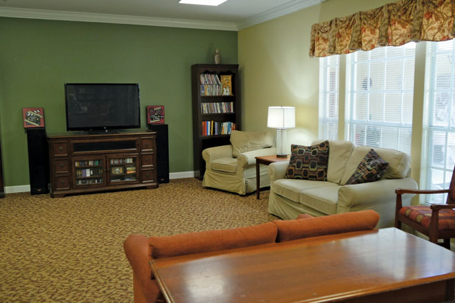 Brookdale Central Chandler TV Room