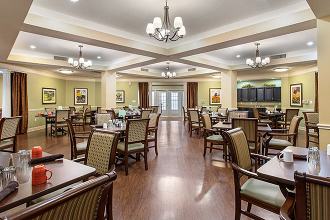 Brookdale Champions Dining Room