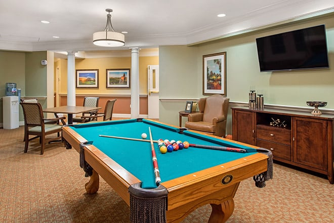 Brookdale Champions Game Room