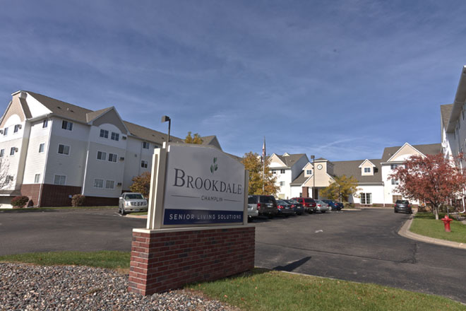 brookdale champlin assisted living and alzheimerâ s care champlin mn